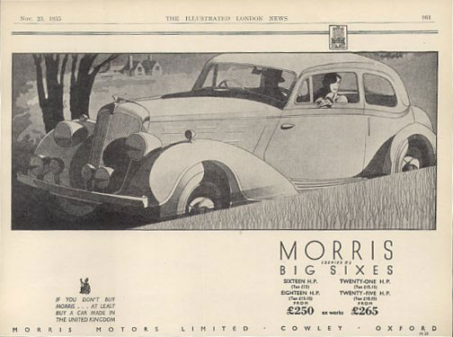 morris series ii big six 35