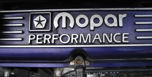 mopar performance cover