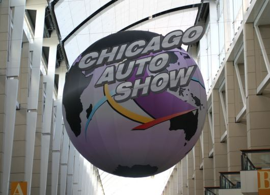 2007 chicago auto show sign 1