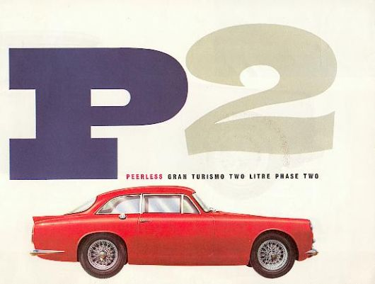 peerless gran turismo two litre phase two catalog 59
