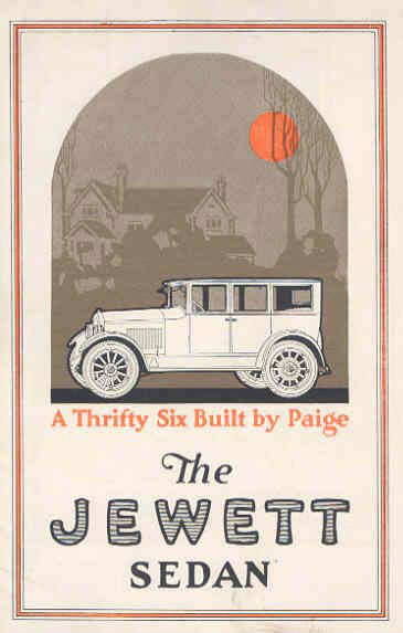jewett six sedan brochure 22