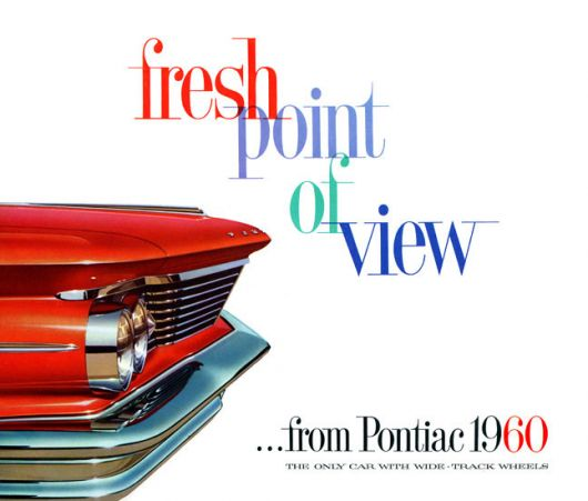 pontiac  fresh brochure 60