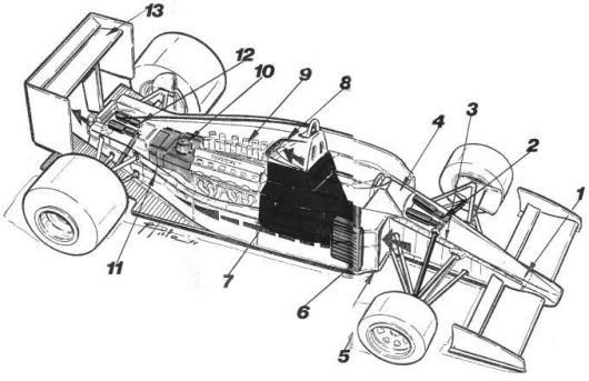 ferrari 639 cut away 88