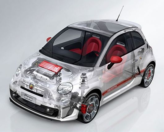 fiat 500 abarth cut away 08