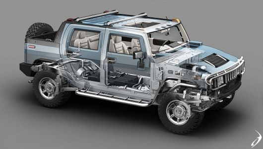 hummer h2 draw