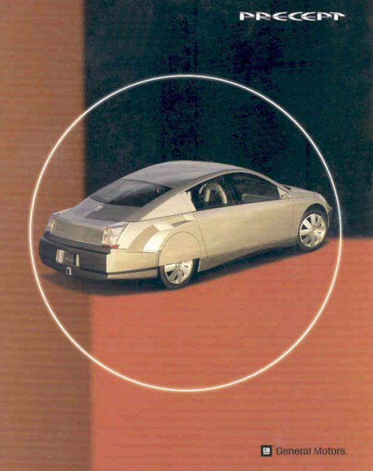 gm precept hybrid electric concept brochure 97