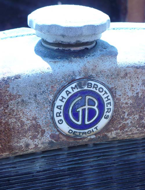 graham bros truck radiator emblem