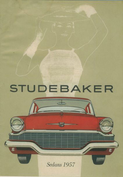 studebaker sedan catalog 57