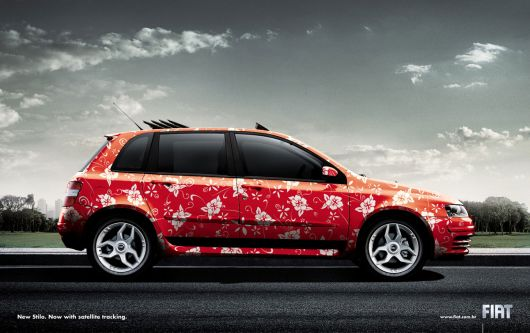 fiat stilo flowers ad
