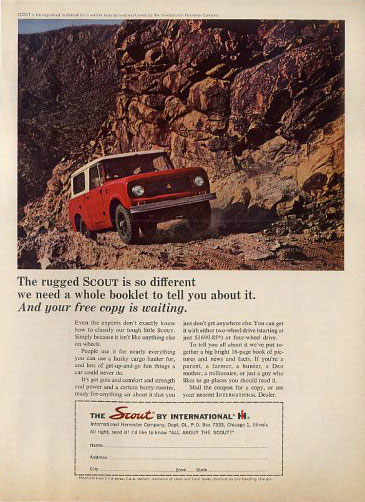 ihc international harvester scout 64