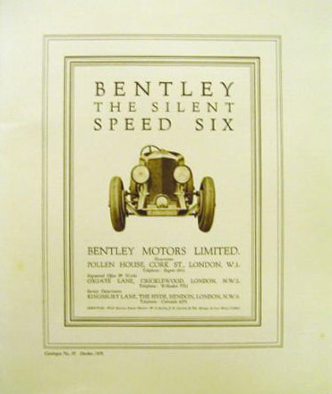 bentley original speed six brochure no33 29