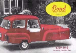 bond minicar mark d brochure