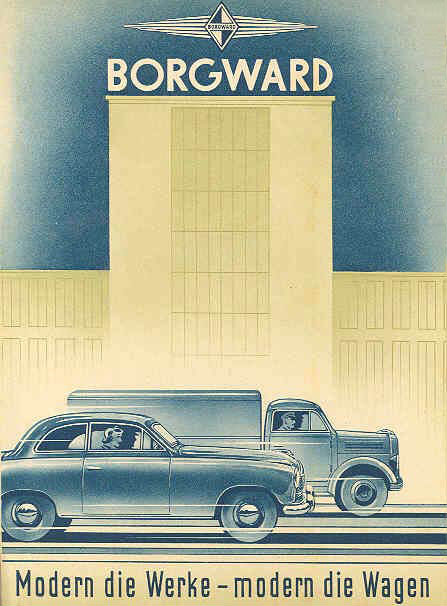 Car Transport Companies >> Borgward brochures | Cartype