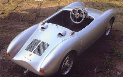 porsche spyder 550 scale car 4