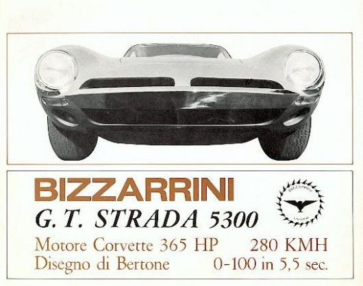 bizzarrini gt stratda 5300 catalog 66