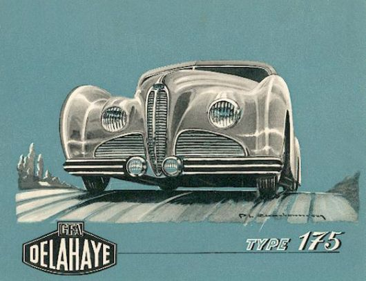 delahaye type 175 cat 471