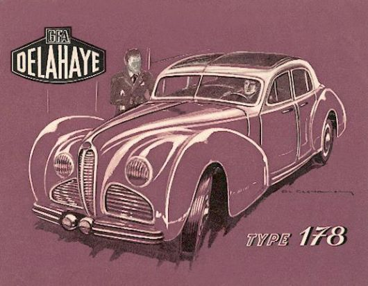 delahaye type 178 cat 47