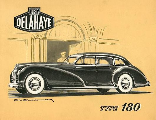 delahaye type 180 cat 47