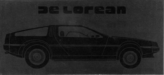 delorean brochure 81