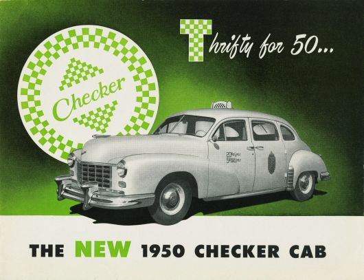 checker cab ad 50