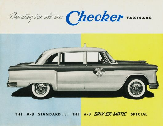 checker cab ad 56