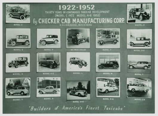 checker cabs from22to52 ad 52