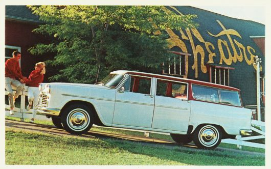 checker marathon station wagon 62
