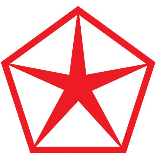 chrysler pentastar old logo