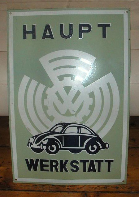 haupt factory sign