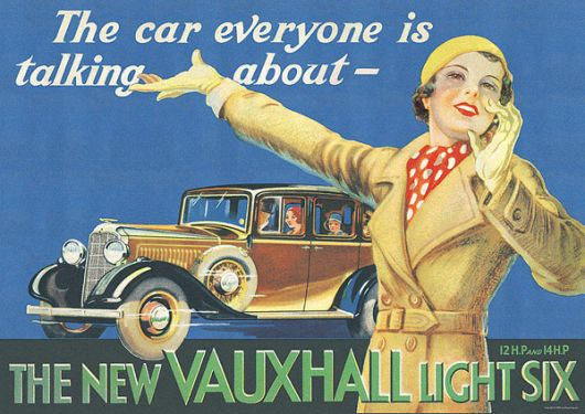 vauxhall poster