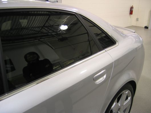 audi s4 sidedetail