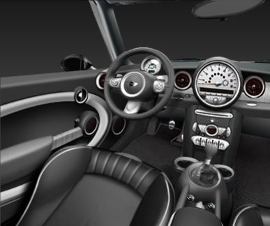 2008 Mini Cooper Clubman Interior Image Gallery  HCPR