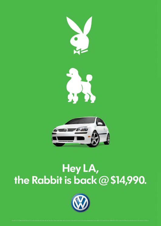 vw rabbit la ad 06