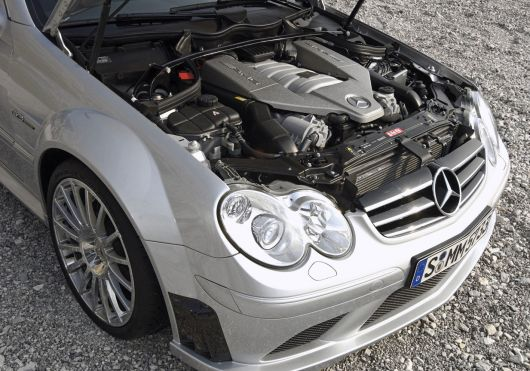 mercedes clk63 amg black series eng