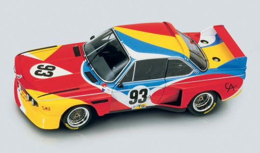 1975 bmw 3.0 csl art car by alexander calder