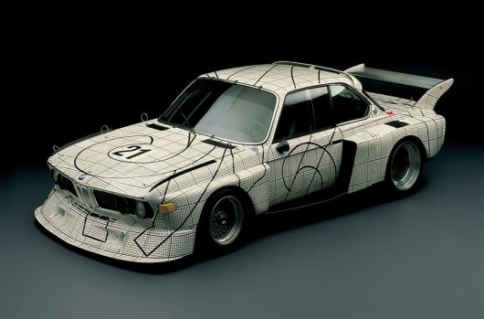 1976 bmw 3.0 csl art car by frank stella 1