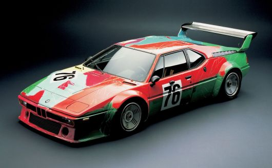 1979 bmw m1 art car by andy warhol 1