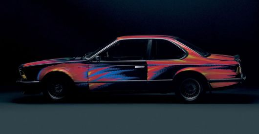 1982 bmw 632 csi art car by ernest fuchs
