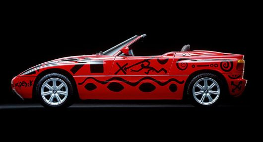 1991 bmw z1 art car by a. r. penck 2