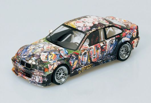 1992 bmw 3 series art car by sandro chia