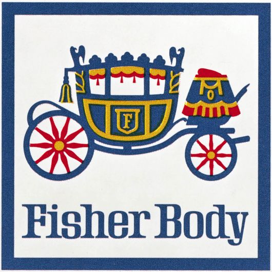 fisher body logo 80s