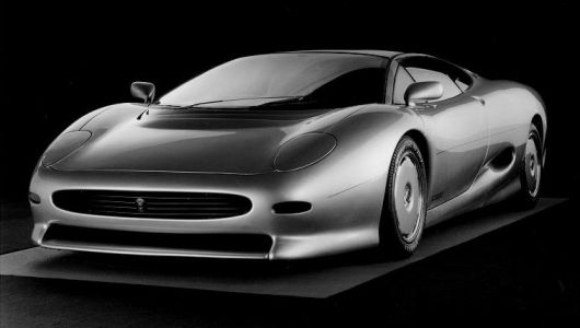 jaguar xj220 frontside