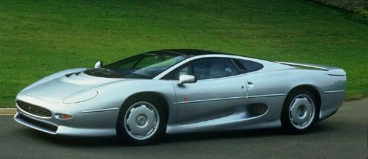 jaguar xj220 side3