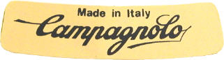 campagnolo early wheel sticker 55x15mm