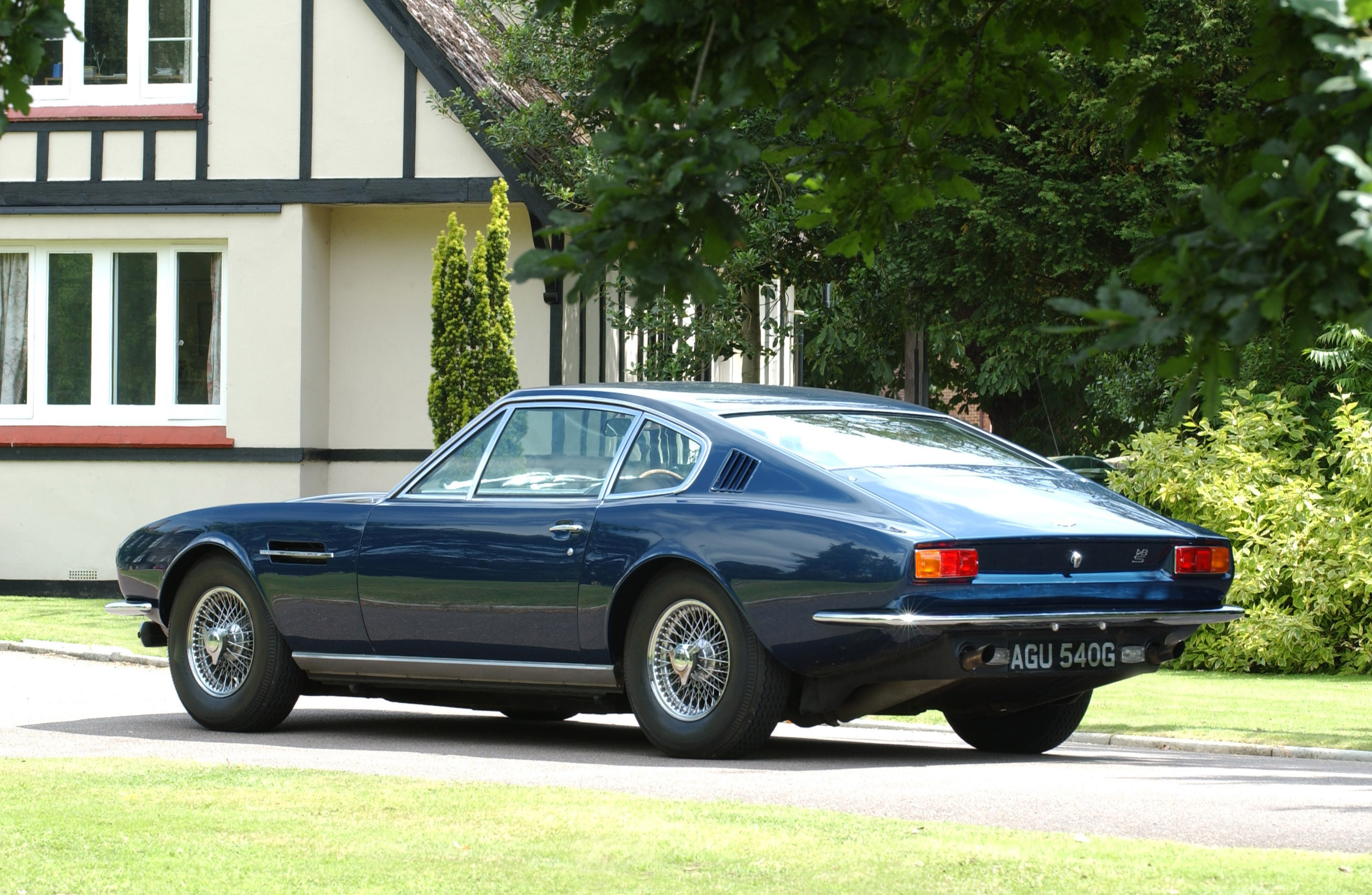 1967 1972 Aston Martin Dbs Dark Cars Wallpapers