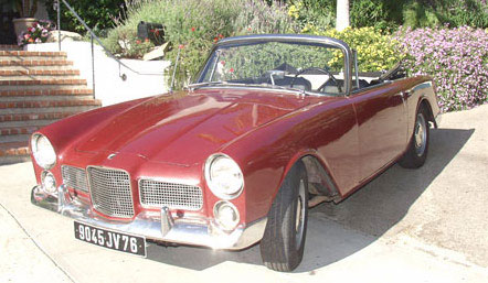 facel vega 54 front side