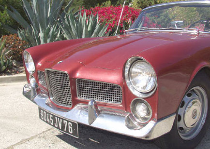 facel vega 54 nose