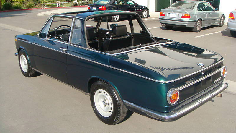 Types Of Vehicles And Systems Functioning Bmw 2002 Targa