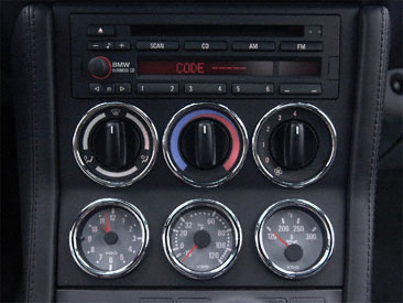 Z3 E36 7 Wtb S54 Gray Gauges For Centre Console