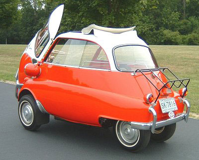 Types Of Vehicles And Systems Functioning Bmw Isetta 300